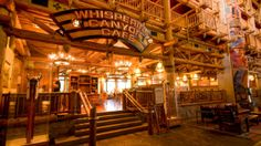 Wilderness Lodge - Whispering Canyon Café - WILL TRY - the husband likes what's on the menu - we've never eaten here before, but for next trip it's a must eat.