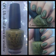 OPI, Uh-oh roll down the window