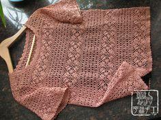 crochet summer shirt