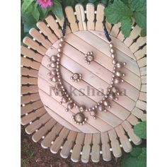 Terracotta Jewelry  necklace set