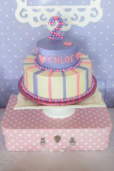 adorable doc McStuffins birthday party Cake #birthday  #docmcstuffins