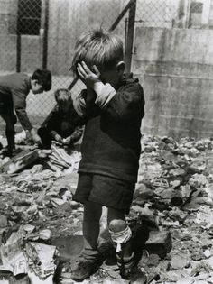 Berlin 1945 In Germany the Child mortality was in 1947 at 65%. The cause were malnutrition and infectious diseases.