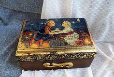 Handcrafted Wooden Jewelry Box Jewelry Organizer wood