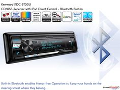 Kenwood KDC-BT53U with Built in Bluetooth, iPod iPhone Control, Aha Radio will Transform your Dashboard !!