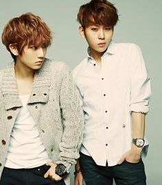 HyunSeung (Jay Stomp) 현승 and JunHyung 준형 from Beast / B2ST 비스트