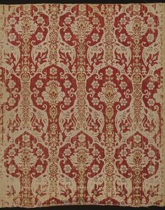 Dress fabric      Date:      1500s (made)     Museum number:      92-1882