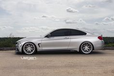BMW F32 435i M Sport Velgen Wheels VMB7 Matte Silver 20x9 & 20x10.5
