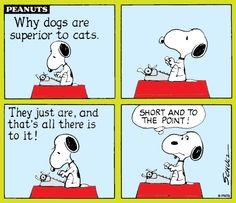 Tell it Snoopy! :)