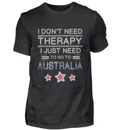 Go to Australia Gift Australien Geschenk T-Shirt Basic Shirts, Australia, Gift, Mens Tops, Presents, Gifts