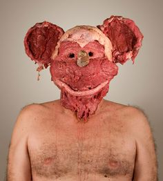 Dimitri Tsykalov.   Makes weird stuff out of meat and wood