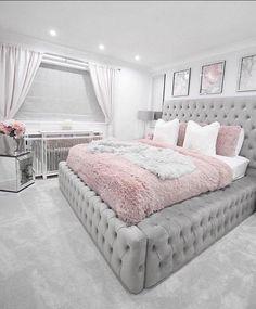 Teen Bedroom Designs, Bedroom Decor For Teen Girls, Cute Bedroom Ideas, Room Design Bedroom, Cute Room Decor, Room Ideas Bedroom, Modern Teen Bedrooms, Teenage Bedrooms, Modern Beds