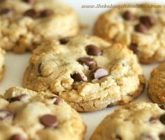 """Phenomenal"" Milk Chocolate Chip Peanut Butter Cookies"