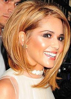 Cheryl's caramel bob is the new black too - The Sun mobile