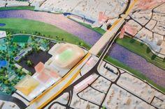 Plan for stadium in the historical city of venlo, NL