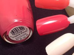 Opi Tropical Punch 1989 Launch Black Label