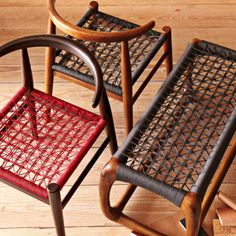 South African riempie benches and chairs