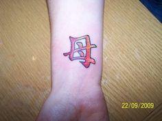 kanji tattoos mother - to go with my heart kanji