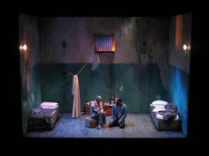 Kiss of the Spider Woman. Hull Truck Theatre. Scenic design by Philip Witcomb. Lighting by Douglas Kuhrt.