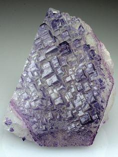Fluorite - Komshejeh Mine, Ardestan County