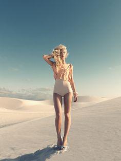 Le Soleil blanc du desert