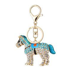 Pendant Handbag Keyring Horse Shape