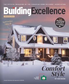 Comfortable Fashion, Home Builders, Magazine, Mansions, House Styles, Building, Winter, Home Decor, Winter Time
