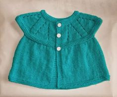 All-in-one Knitted Baby Tops & Hat by mariannaslazydaisydays (6 months) & (9 - 12 months) - *pattern: