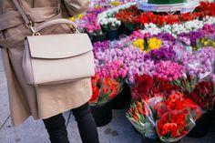 Michael Kors Ava Small Saffiano Leather Satchel Blush