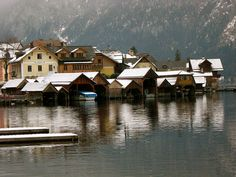 Lahn and Hallstatt, Austria