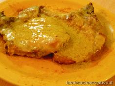 braciole di maialeal curry