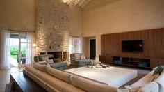 Salas de estar grandes - Casa e Decoração - UOL Mulher