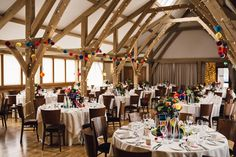Katie and Chris enjoyed a colourful barn wedding at Bassmead Manor Barns. Read about their big day and why Bassmead was the perfect venue. Country House Wedding Venues, Barn Wedding Venue, Wedding Table, Blue Color Schemes, Wedding Breakfast, Elegant Wedding, Table Settings, Barns, Table Decorations