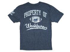 Washburn Ichabods Old Timer Football Adidas Tri-Blend Tee Shirt - Navy Fan  Gear 6bc44dc23