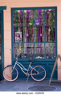 mardi gras window display - Google Search