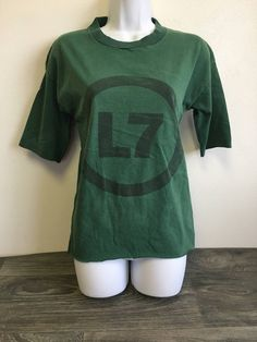 L7 Vintage Band Tshirt DIY 80s Grunge Punk Rock Shirt Sparks Gardner Girl Group La Los Angelas VTG Small Tee by sweetVTGtshirt on Etsy