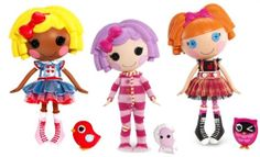 Lalaloopsy dolls are BIG right now. You could even donate a set to give two kids the opportunity to play together! Sharing is CARING. #CareAll
