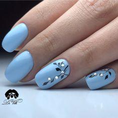 and Beautiful Nail Art Designs – – Nagelkunst Beautiful Nail Art, Gorgeous Nails, Beautiful Pictures, Stylish Nails, Trendy Nails, Fancy Nails, Blue Nails, My Nails, Nagellack Design