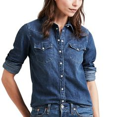 e5a5007cabb Women's Levi's® Ultimate Western Denim Shirt in 2019 | Products ...