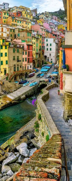 Riomaggiore, Italy | architecture unique arts