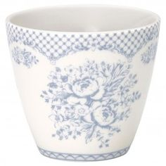 "GreenGate Latte Cup ""Stephanie"" (Dusty Blue)"
