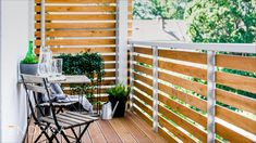 Rekonstrukce domu v Brně na ulici Komprdova. #homedesign #balcony Nassau, Porch Swing, Outdoor Furniture, Outdoor Decor, Deck, Home Decor, Decoration Home, Room Decor, Front Porches
