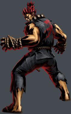 Street Fighter - Akuma by Shinkiro Art Of Fighting, Fighting Games, Akuma Street Fighter, Street Fighter Characters, Best Anime Shows, World Of Warriors, Gamer 4 Life, Dance Movies, Marvel Vs