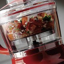kitchenAid artisan red food processor