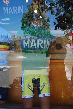 Cycling shop. Marin County.