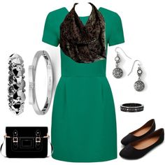A fashion look from July 2014 featuring bodycon dresses, lace-up ballet flats and handbag purse. Browse and shop related looks. Infinity Scarf Outfits, Lace Up Ballet Flats, Fashion Looks, Bodycon Dress, Style Inspiration, Polyvore, Shopping, Black, Dresses