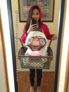 Getting ET Home Costume for Under $20!... Coolest Halloween Costume Contest