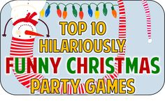Hilarious Christmas party game ideas to add some fun and festivity to your holiday bash! More Hilarious Christmas party game ideas to add some fun and festivity to your holiday bash! Funny Christmas Party Games, Xmas Games, Holiday Games, Holiday Fun, Christmas Parties, Fun Games, Office Holiday Party Games, Holiday Ideas, Office Christmas Party Games