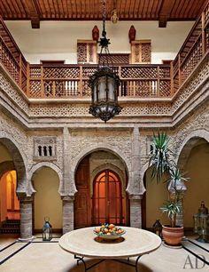 Interior Design #Riad #Morocco
