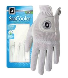 FootJoy StaCooler Golf Glove Gloves, Golf, Throw Blankets, Mittens, Wave