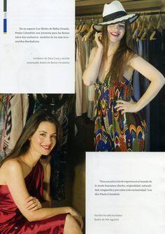 SOMBRERO PANAMA #DELACUCA  REVISTA NORDELTA Patterned Dress, Templates, Printing Press, Sombreros